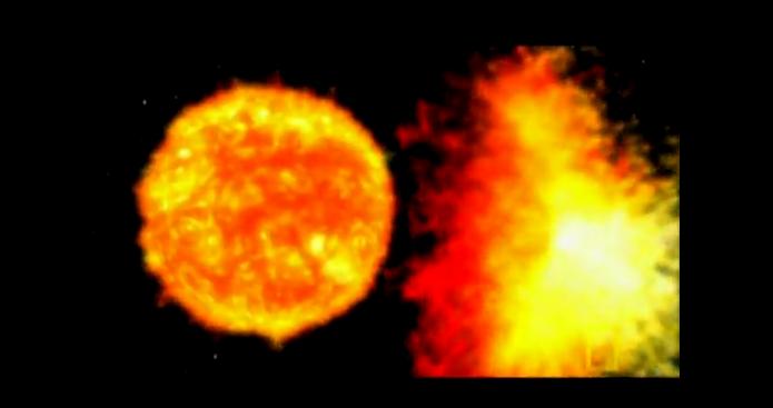 超大太陽風暴