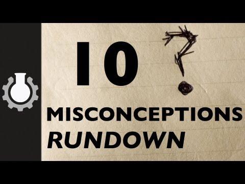 「十大誤解概要」- Ten Misconceptions Rundown