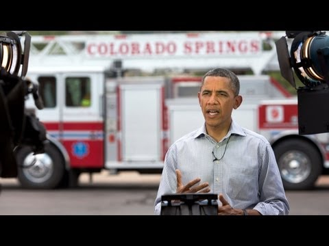 「歐巴馬每周演說之科羅拉多大火」- Weekly Address: An All-Hands-On-Deck Approach to Fighting the Colorado Wildfires
