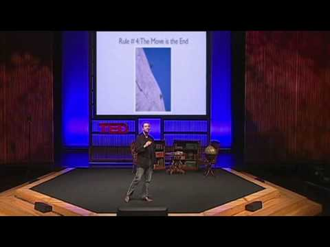 「TED勵志影片:攀岩中的九個人生哲理」- TED: Matthew Childs Nine life lessons from rock climbing