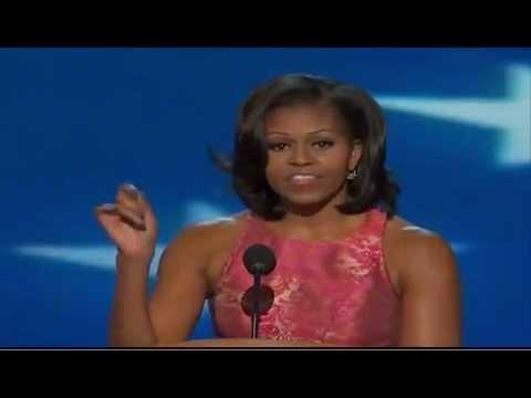 第一夫人蜜雪兒歐巴馬2012民主黨大會完整演說