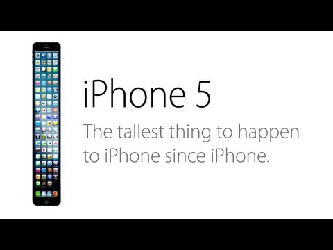 「iPhone 5惡搞影片:最長的iPhone」- The Tallest iPhone