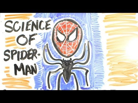 「蜘蛛人的超能力解析」- The Science of Superheroes: SPIDER-MAN