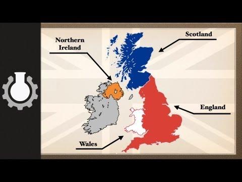 「《聯合王國》、《大不列顛》和《英格蘭》」- The United Kingdom, Great Britain and England