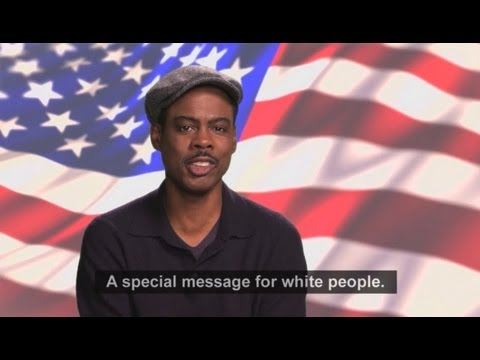 Chris Rock:給白人選民的一段話