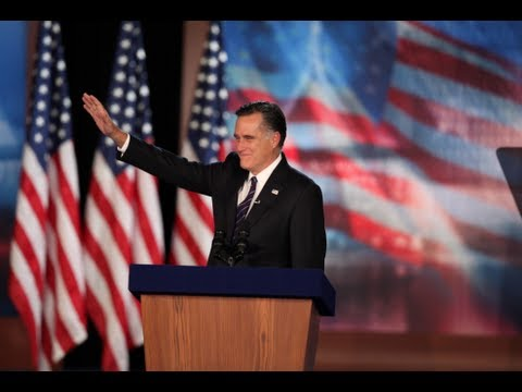 「羅姆尼的敗選演說」- Romney's Complete Concession Speech