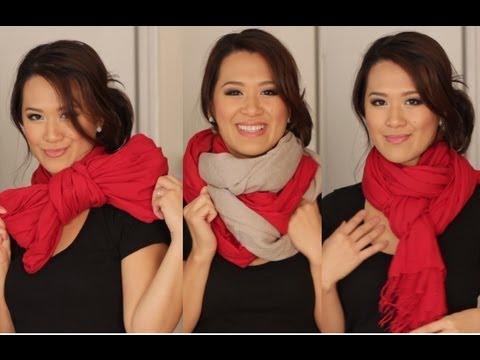 「達人教你的六種圍巾打法」- Six Ways to Wear Your Scarves