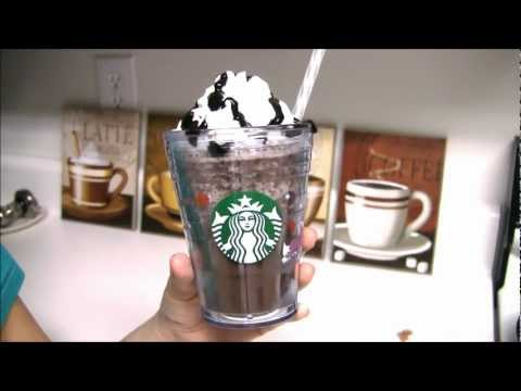 「星巴克的摩卡可可碎片星冰樂」- How to make a Starbucks Java Chip Frappuccino