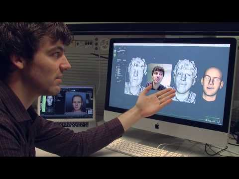 「軟體做出即時擬真表情頭像」- Software Enables Avatar to Reproduce Our Emotion in Real Time