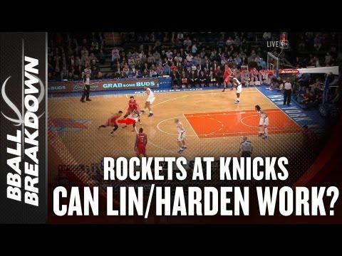 「哈林連線是否能成功?」- Can McHale Make Lin & Harden Work?