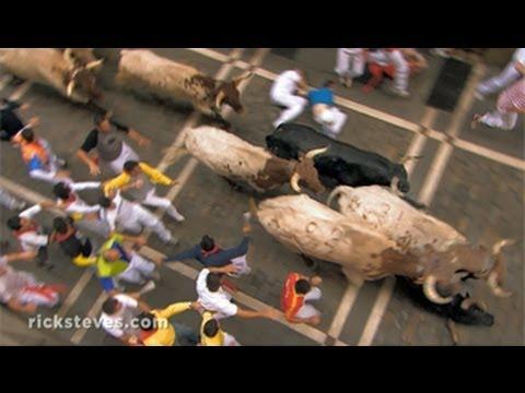 西班牙小鎮潘普羅納:奔牛節