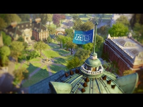 「怪獸大學:怪獸上學去」- Monsters University: Imagine You at MU
