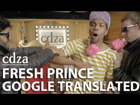 Google翻譯版:貝萊爾的新鮮王子