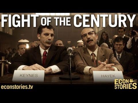 「世紀之戰:凱因斯大戰海耶克(第二回合)」- Fight of the Century: Keynes vs. Hayek (Round Two)