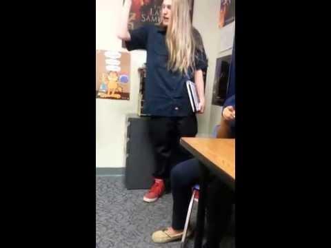 「高中生給老師的震撼教育」- High School Student, Jeff Bliss gives a lesson to his teacher