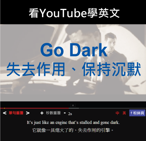 「失去作用、保持沉默」- Go Dark