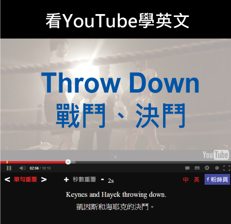 「戰鬥、決鬥」- Throw Down