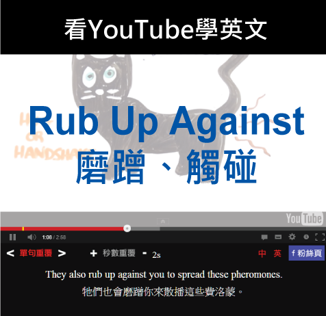 「磨蹭、觸碰」- Rub Up Against