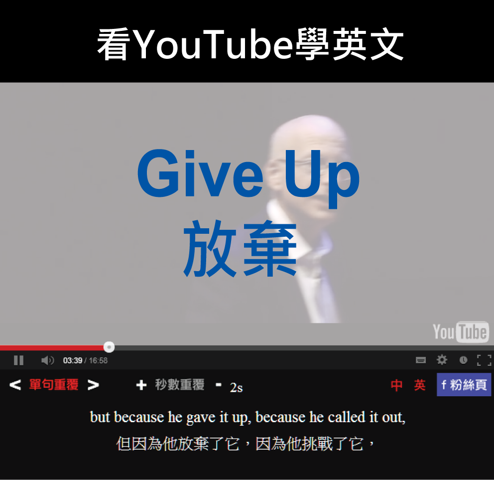 「放棄」- Give Up