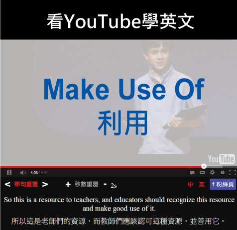 「利用」- Make Use Of