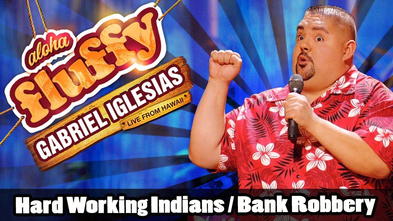 Gabriel Iglesias脫口秀:印度阿三搶銀行