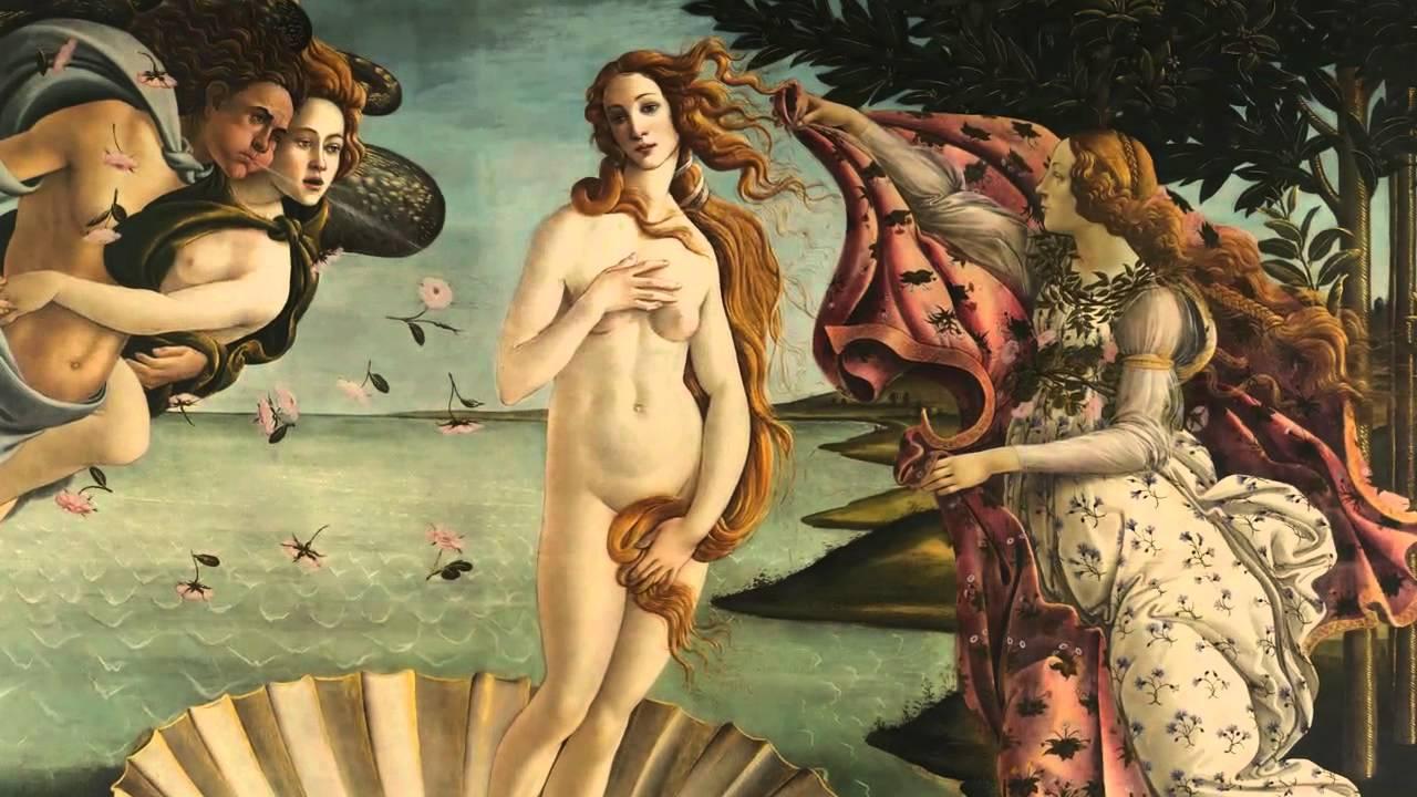 波提切利:〈維納斯的誕生〉