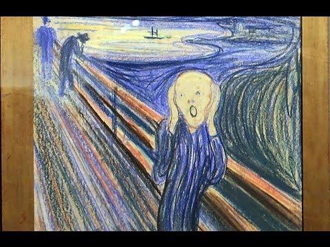 名畫〈吶喊〉遭竊及尋回的故事