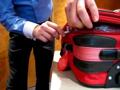 旅行安全危機!原子筆就能打開行李箱