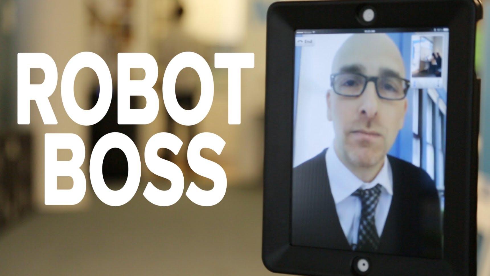 機器人老闆:辦公室的惡夢