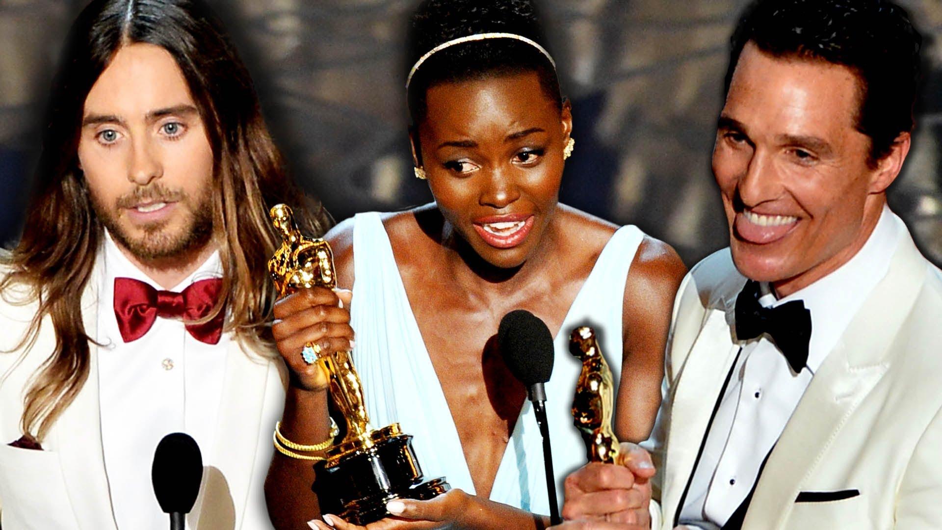 2014奧斯卡:最難忘的七段得獎感言