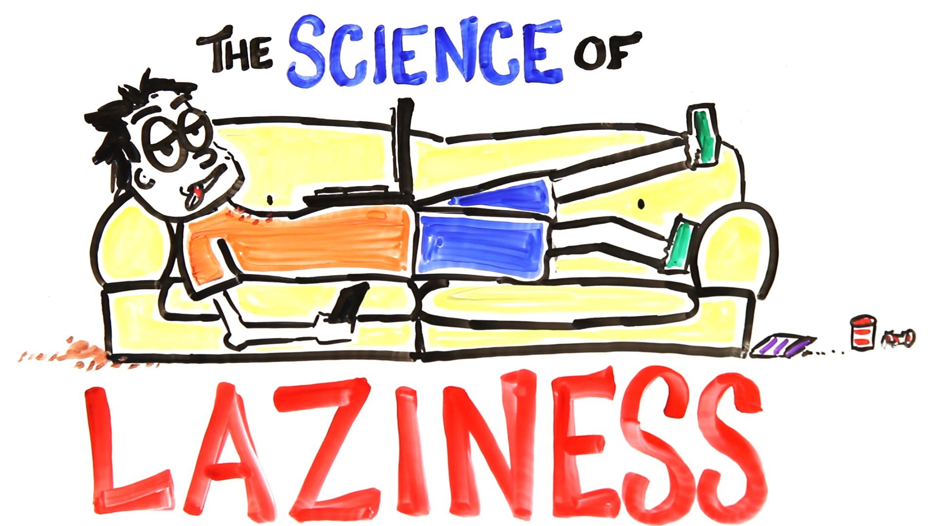 「懶惰的科學」- The Science of Laziness