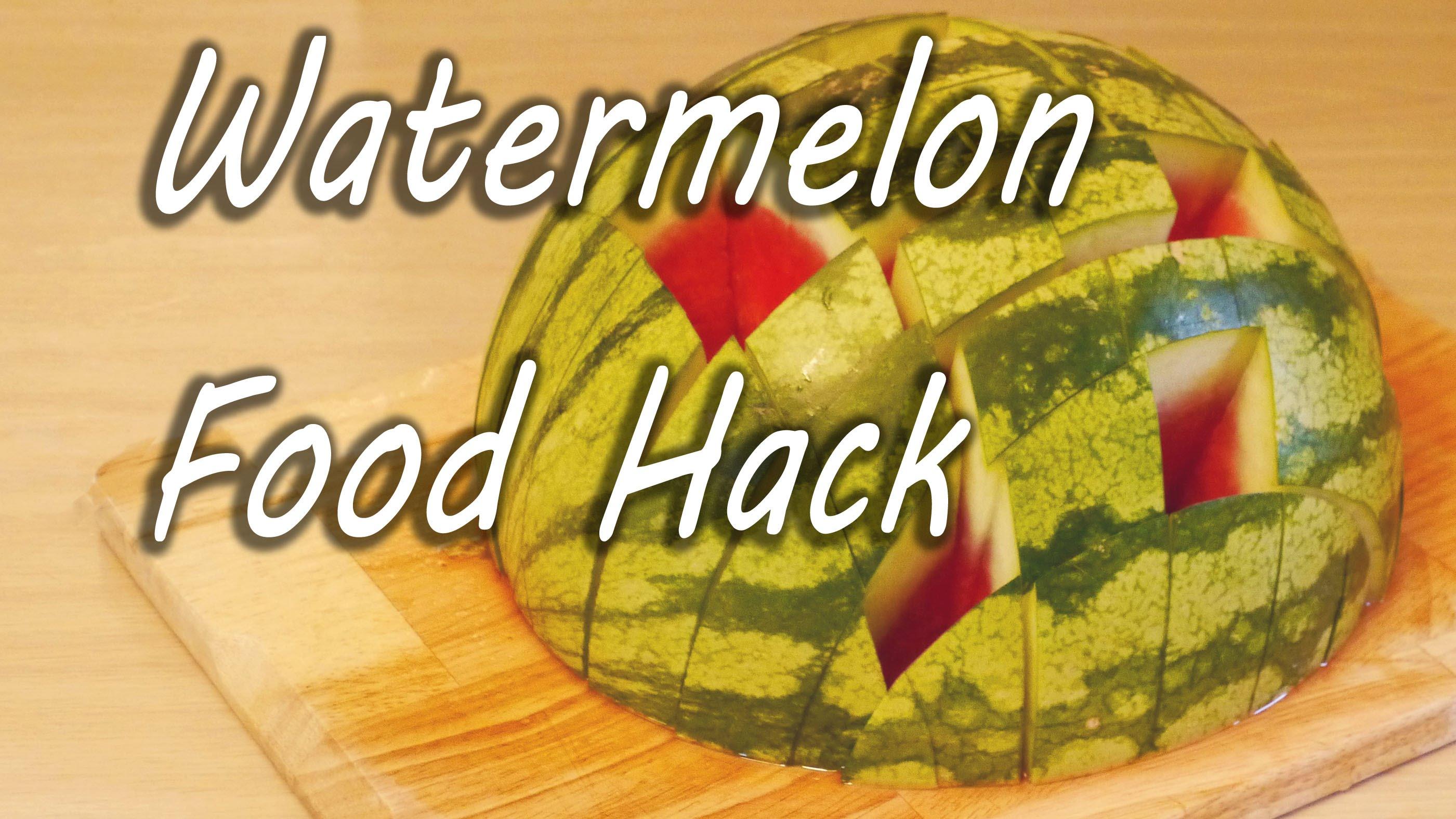 「生活智慧王:原來西瓜還能這樣切?」- How to Eat a Watermelon