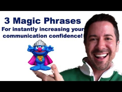 「神奇短語讓你發言不中斷」- 3 Magic Phrases That Increases Your Communication Skills Confidence