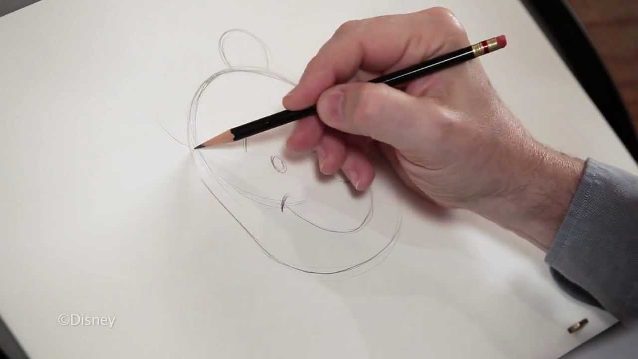 Mark Henn教你簡單步驟畫出小熊維尼