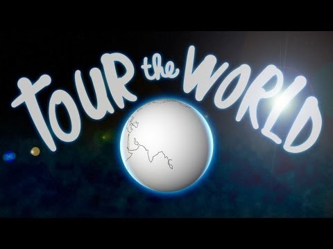 環遊世界不用十分鐘!一首歌帶你唱遊全地球
