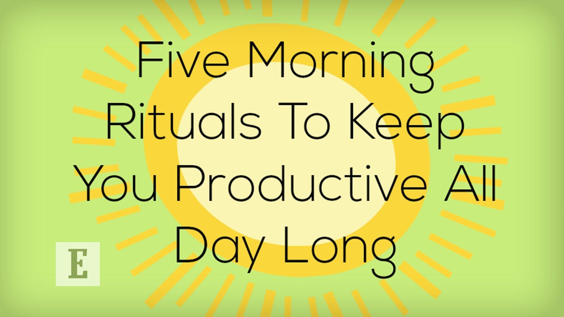 快跟著做!五件讓你邁向成功的早晨小事