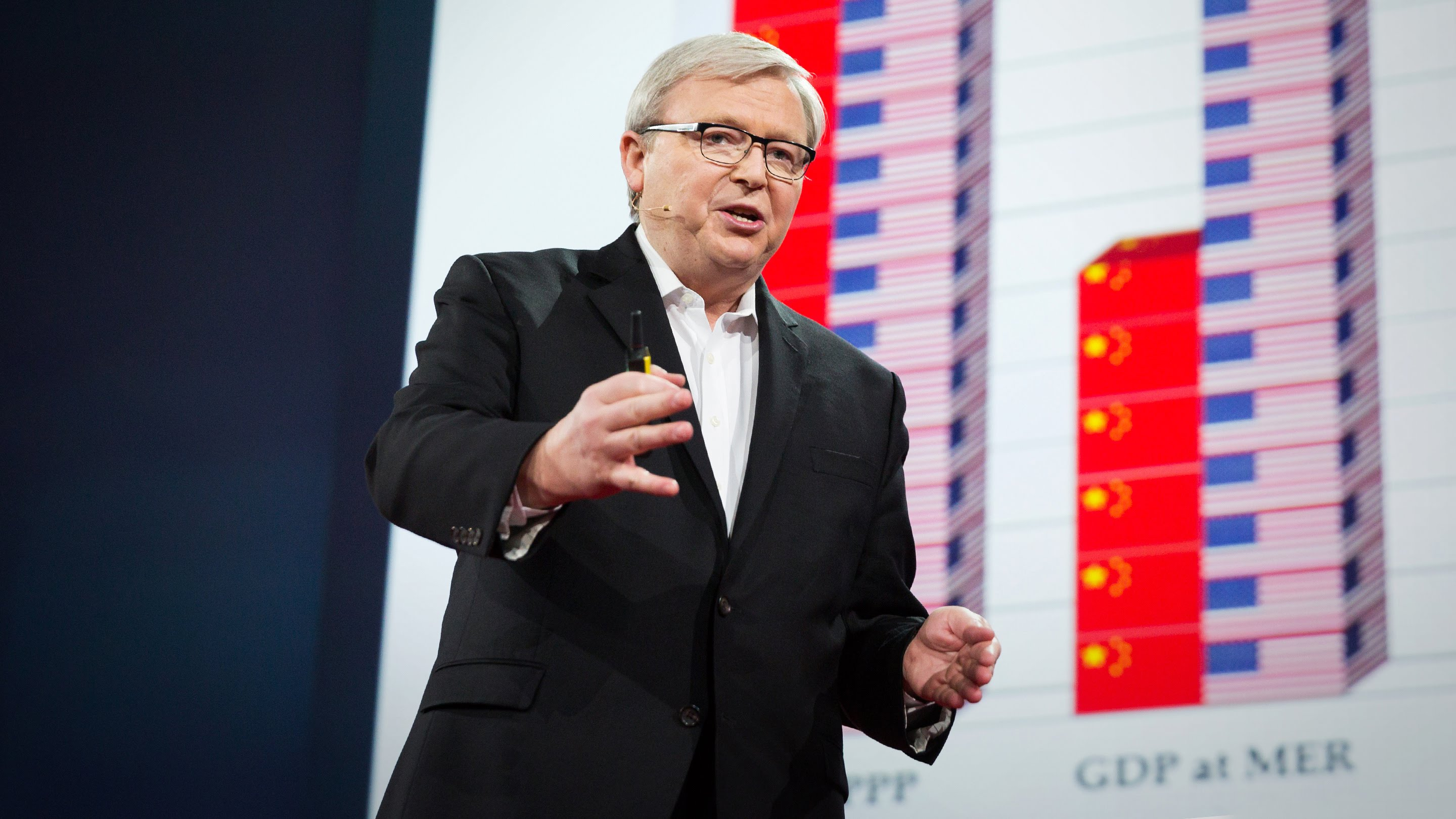 「Kevin Rudd:中國和美國,註定的敵手?」- Are China and the US Doomed to Conflict?