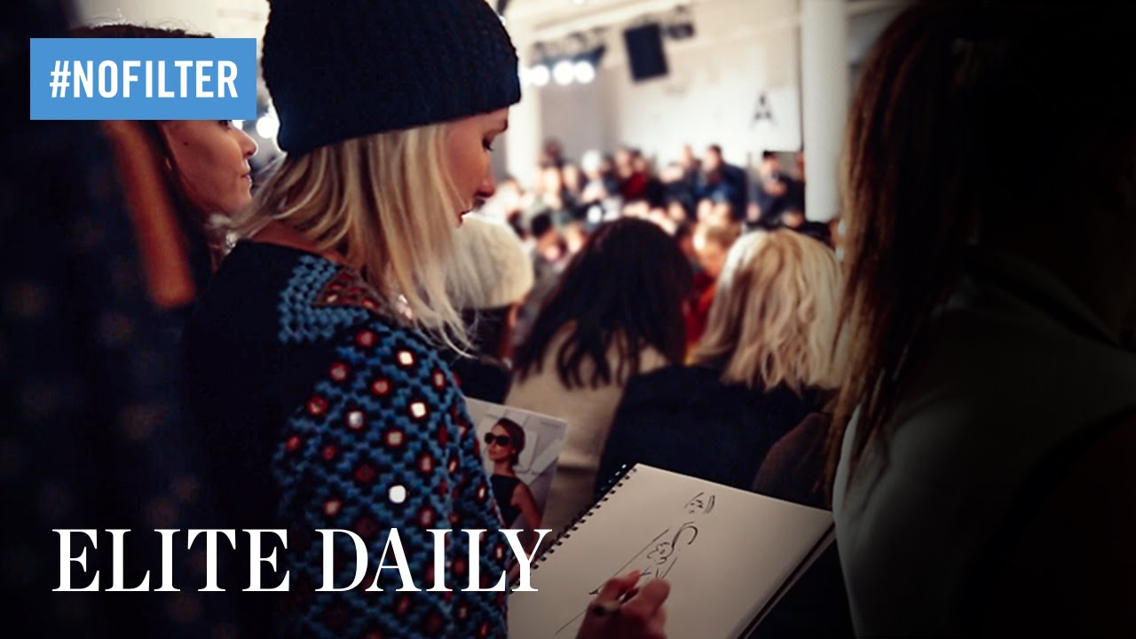 「跟著正妹時尚插畫家去工作」- Inside Tumblr's #NYFW Bloggers with Meagan Morrison of Travel, Write, Draw