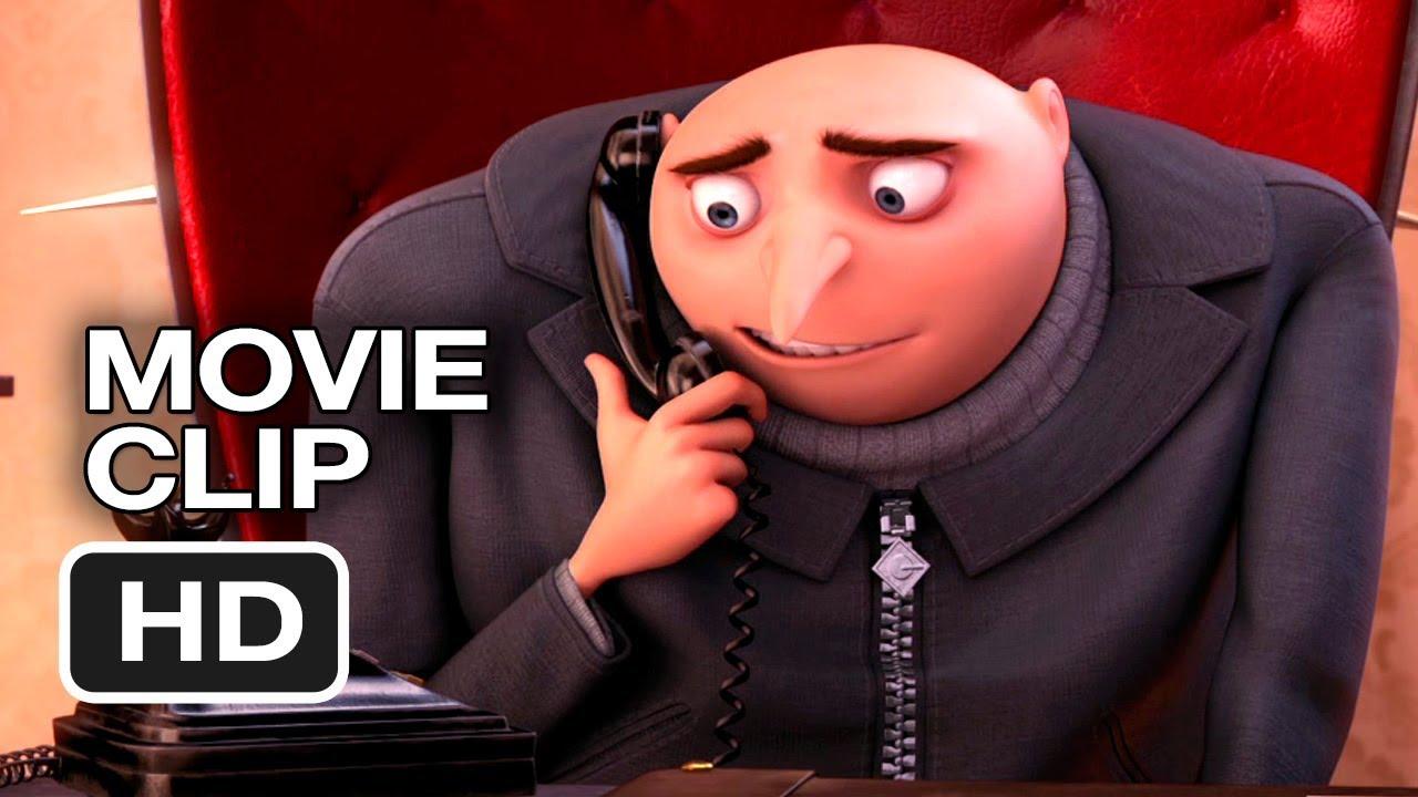 「神偷奶爸教你怎麼打電話把妹?!」- Despicable Me 2 - Phone Practice