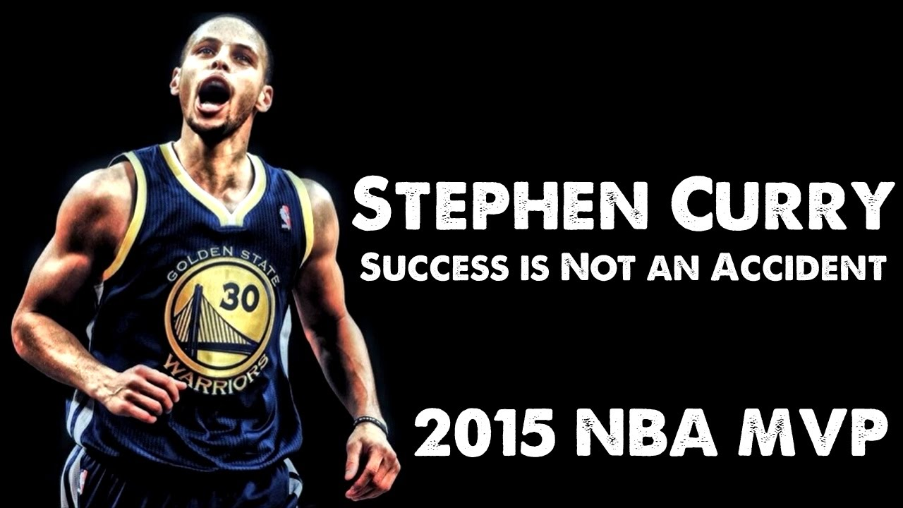「年度最有價值球員 Stephen Curry--成功不是個意外」- Stephen Curry - Success is Not an Accident