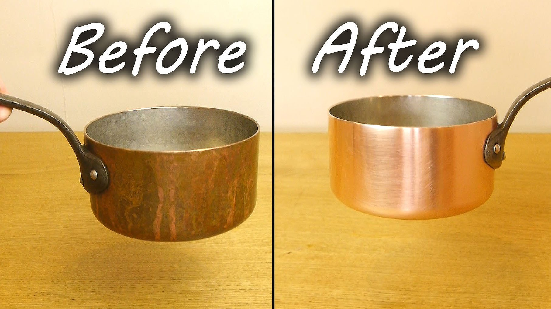 「生活小妙招:銅製品重新亮晶晶」- How to Clean a Copper Pan