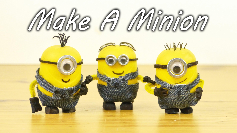 「黃色小小兵,自己動手做!」- How to Make Minions