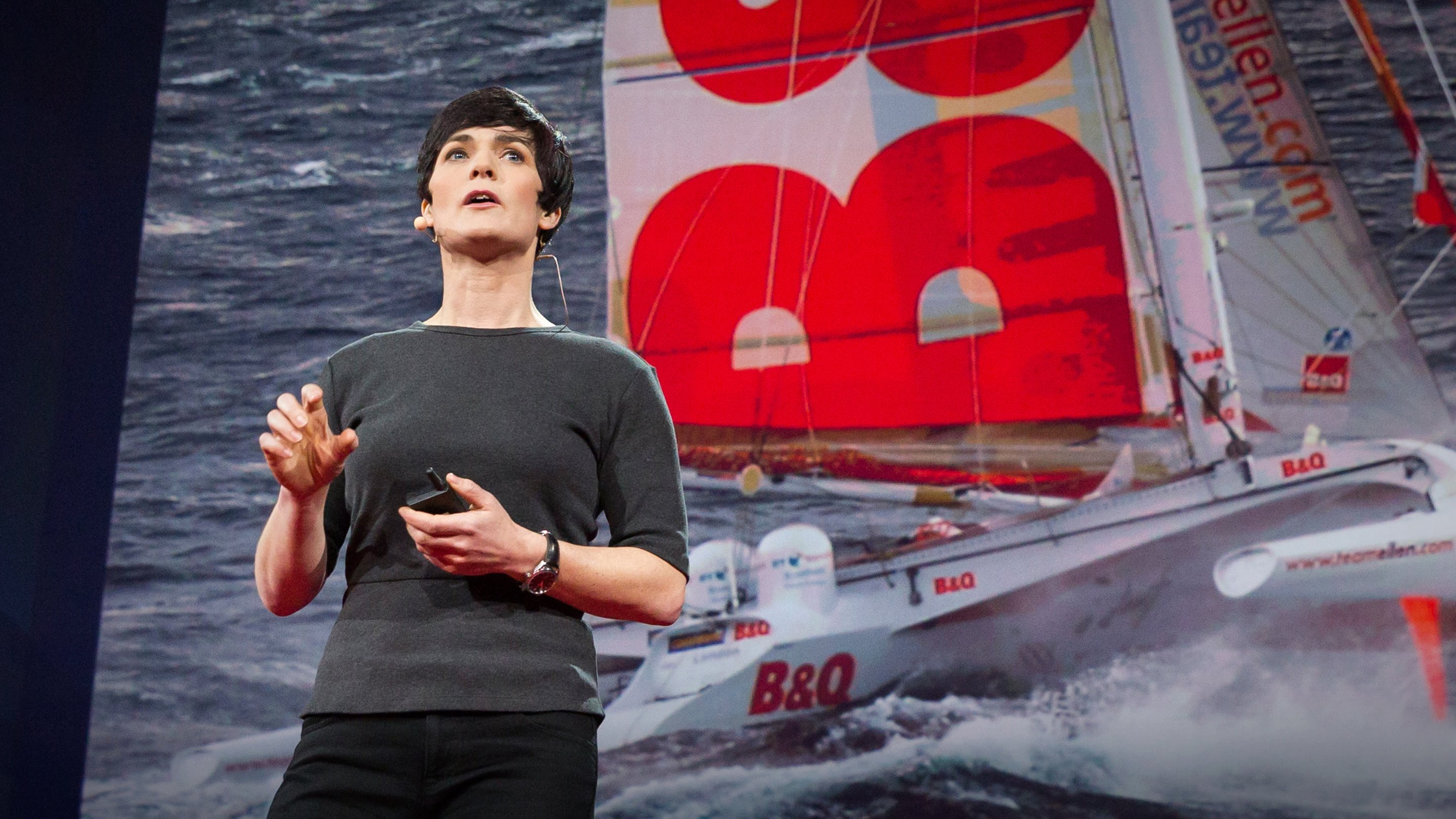 「Dame Ellen MacArthur:我在獨自航行世界時學到的事」- The Surprising Thing I Learned Sailing Solo around the World