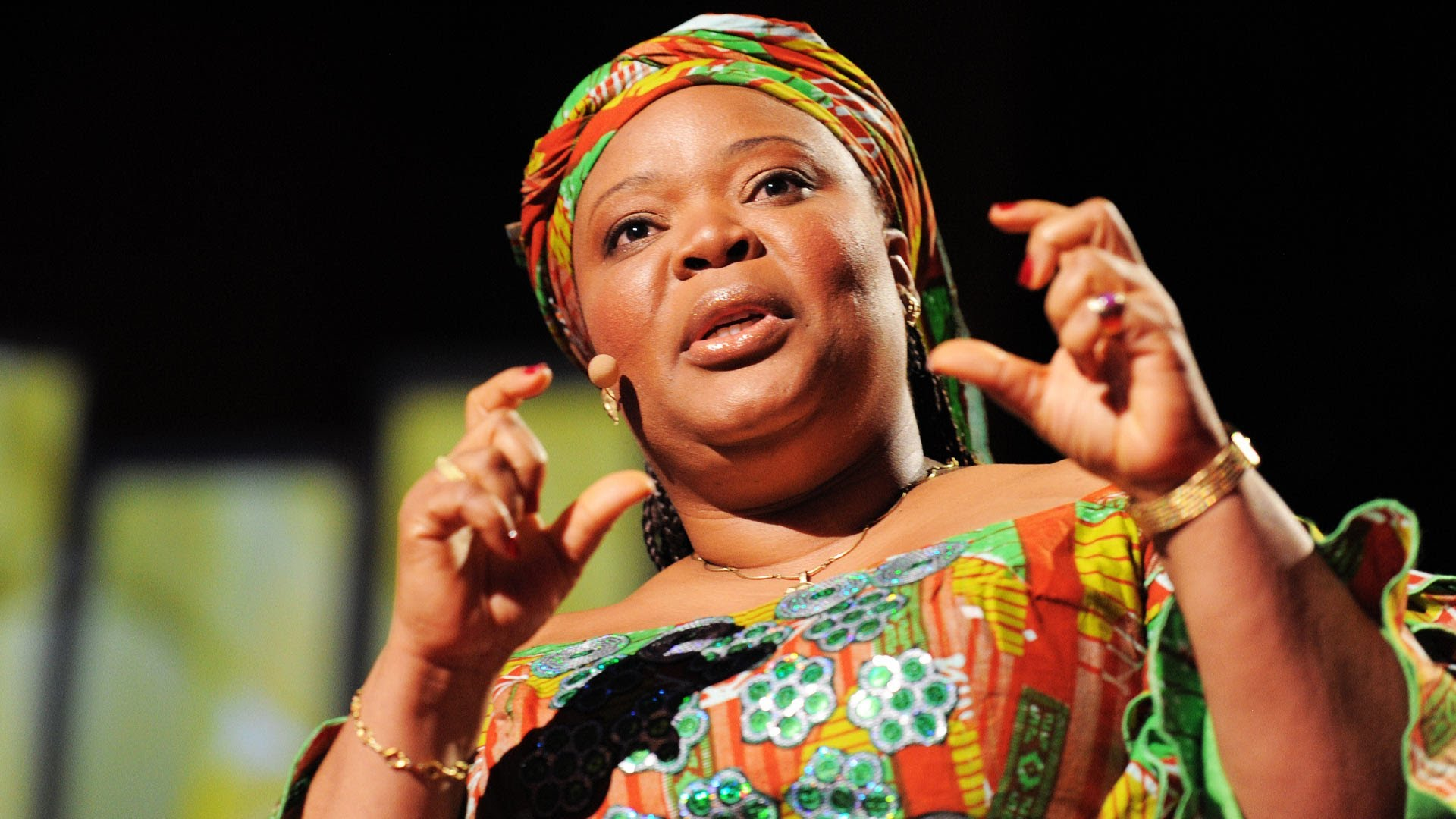 「Leymah Gbowee:釋放女性的無限潛能」- Unlock the Intelligence, Passion, Greatness of Girls