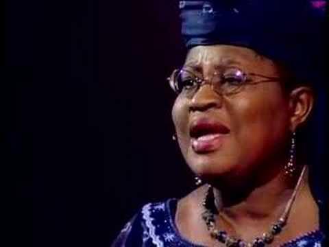 「Ngozi Okonjo-Iweala:援助 vs 貿易」- Aid versus Trade