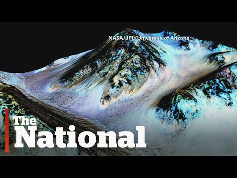 「驚人發現!火星上可能存在液態水」- Liquid Water Found on Mars's Surface