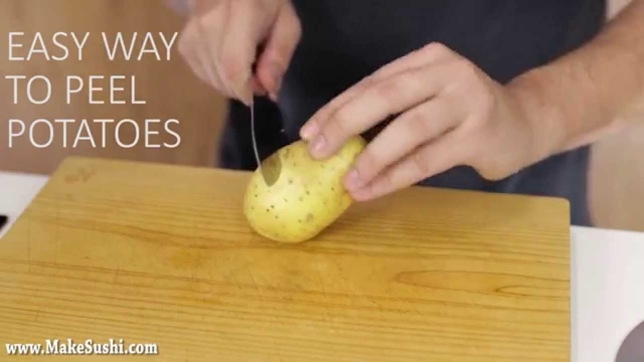 「神奇馬鈴薯脫衣秀!」- Amazing Potato Peeling Trick!