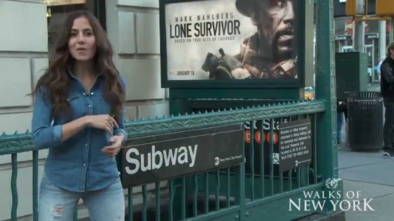 紐約客教你怎麼搭地鐵趴趴走