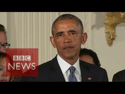 槍械管制演說,美國總統歐巴馬罕見落淚