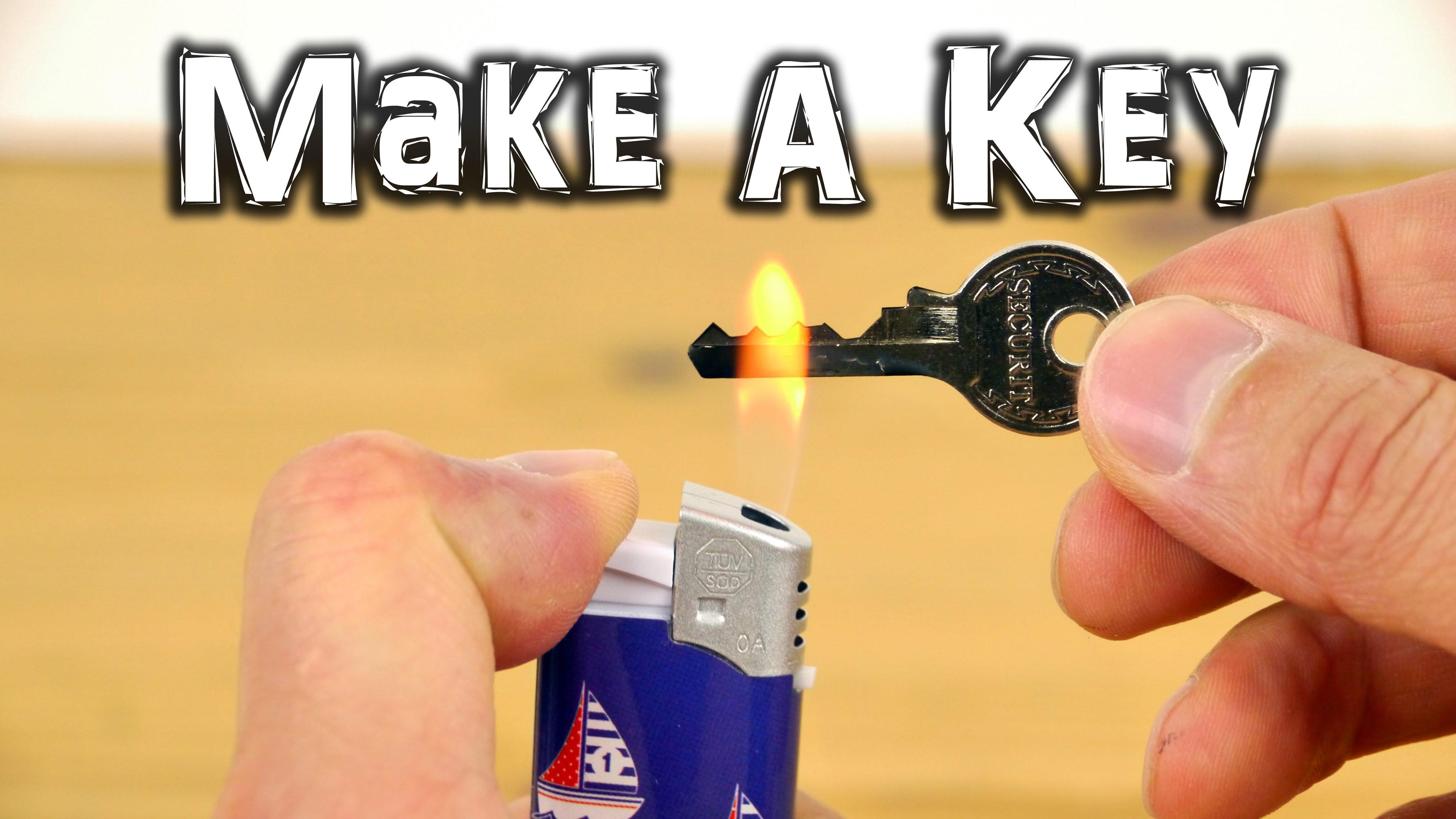 備份鑰匙自己動手做?!